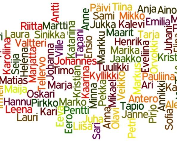 Väestörekisterikeskuksen avoin dataExcelissä
