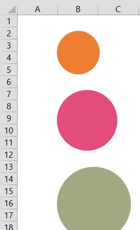 Infograafin kuplat Excelillä (2/3)