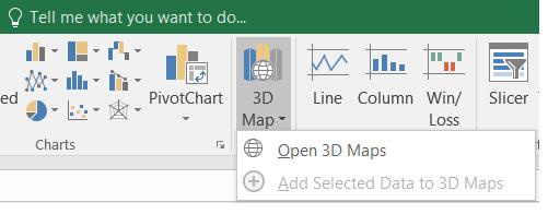 3D maps