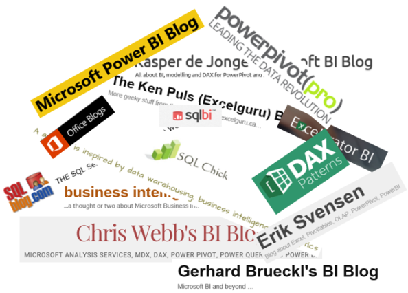 Power BI && Excel Self-Service BI -blogeja