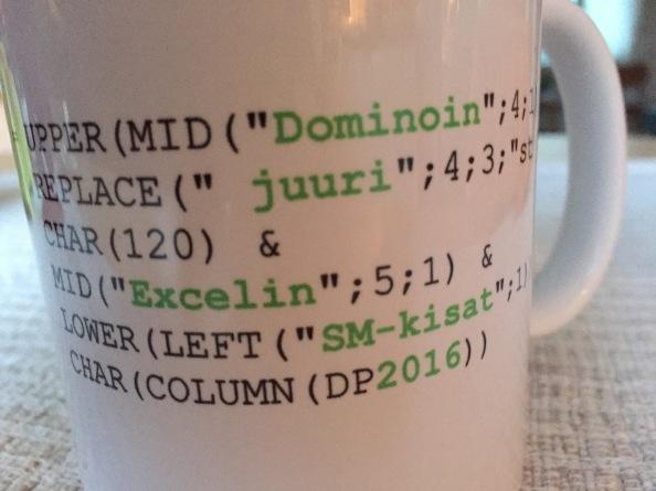 Excelin SM-kisojen ensimmäisen kierroksenvastaukset